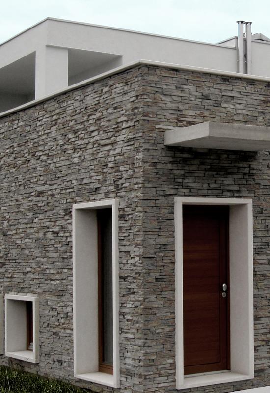 Italpietra scaglia asiago la pietra ricostruita moderna - Pietra da rivestimento esterno ...